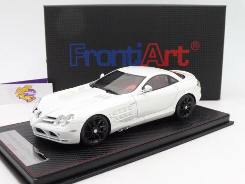 "FrontiArt SA006-29 # Mercedes Benz SLR McLaren Bj 2003 /"" Pearl white /"" 1:18"