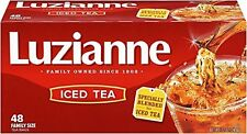 Luzianne Specially Blended for Iced Tea Family Size 48 Count Tea Bags Pack of 6