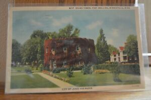 1944-Round-Tower-Fort-Snelling-Minneapolis-Minnesota-City-of-Lakes-amp-Parks-PC
