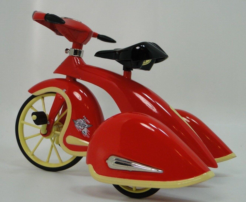 1930 Triciclo Auto A Pedal Rojo Vintage Coleccionista leer la descripción completa página