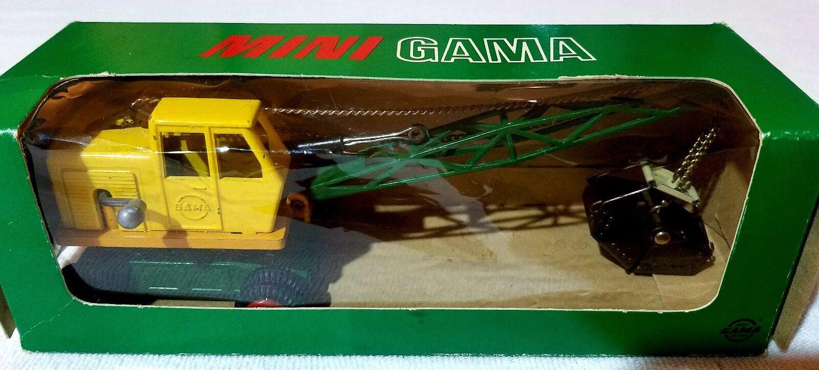Mini GAMA mit OVP   9251 BAGGER BAGGER BAGGER Metallmodell   Versandrabatt s.u.    Moderne Muster  8a1e5a