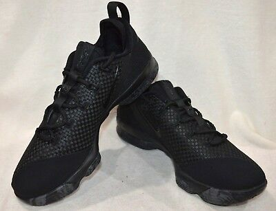 buy online ec059 aaaac Nike LeBron XIV Low Black/Dark Grey Men's Basketball Shoes-Sz 11/11.5/12/13  NWB | eBay