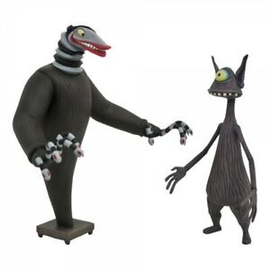 Nightmare before Christmas Actionfiguren 2er-Pack Creature under the Stairs & ..