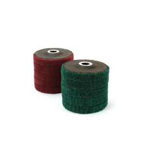 10Pcs-4-Inch-100MM-Nylon-Fiber-Flap-Discs-Polishing-Buffing-Wheel-120-240-Grit