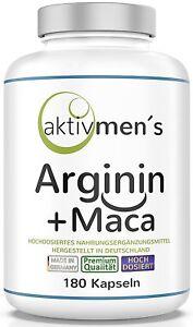 aktivmen-s-Arginin-Maca-180-Kapseln-1-Dose-1-x-140-g-von-Experten-geprueft