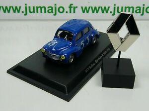 RE58-73-G-lot-voiture-1-43-Eligor-renault-4-CV-TYPE-R-1063-bol-d-039-or-insigne