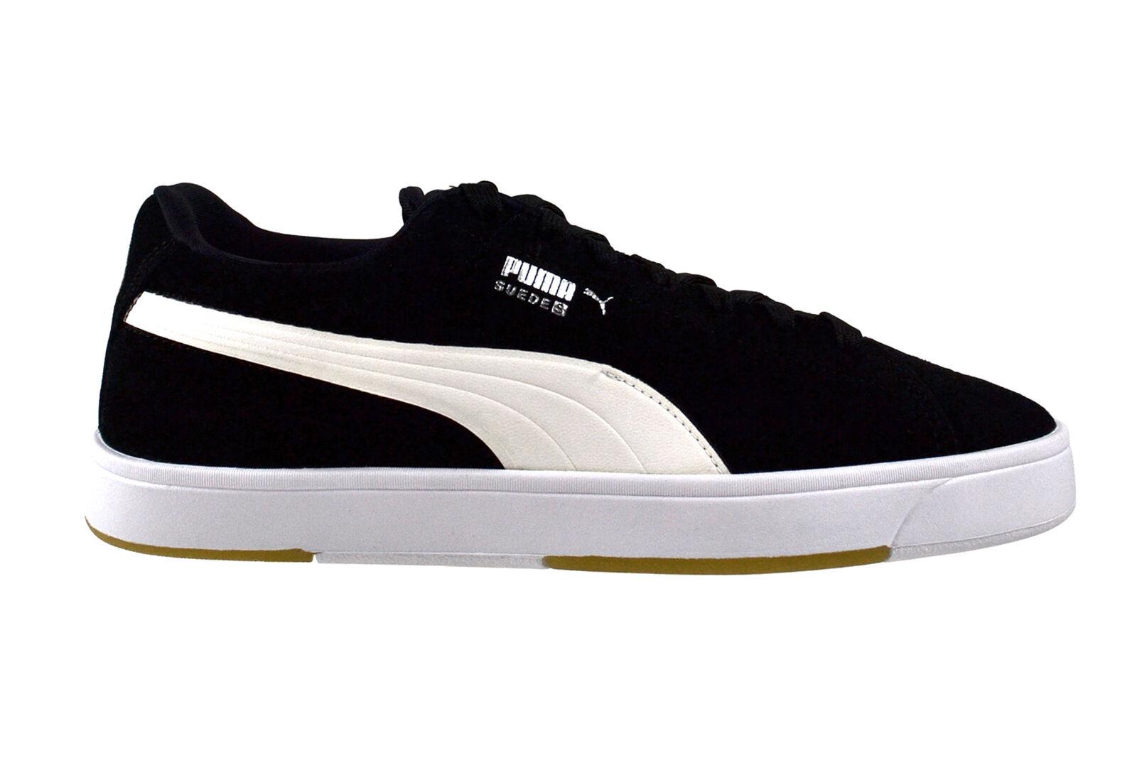 Puma Suede S classic black white Sneaker Schuhe schwarz 356414 34