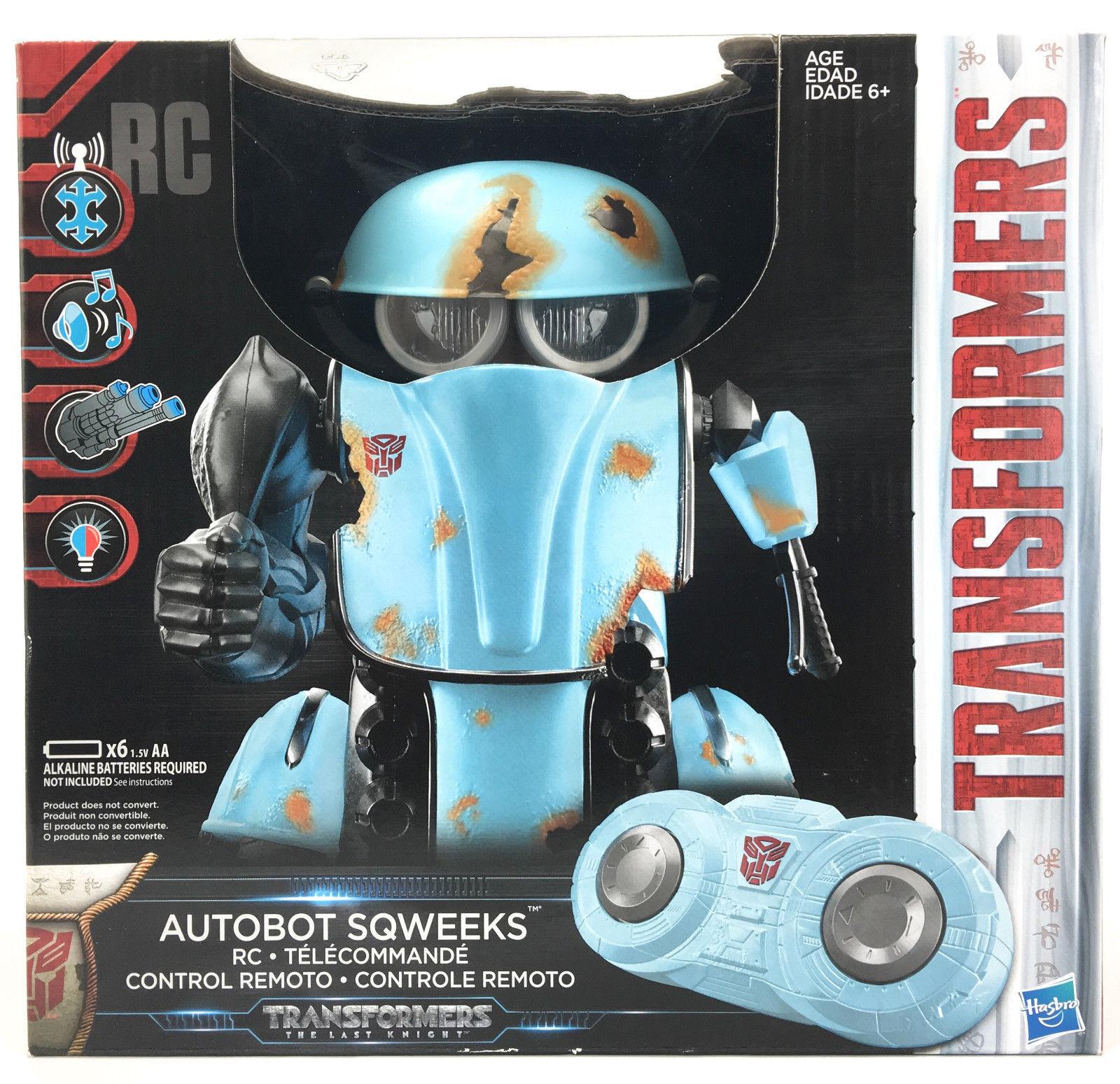 NIB Transformers The Last Knight Autobot Sqweeks Radio Control Toy by Hasbro New