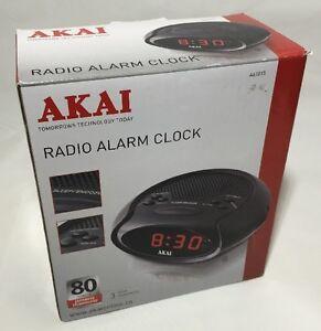 led radio alarm clock a61015 ebay. Black Bedroom Furniture Sets. Home Design Ideas