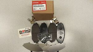 Great Image Is Loading NEW GENUINE HONDA ODYSSEY FRONT BRAKE PADS 99