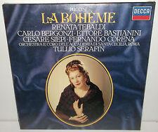 411 868-1 Puccini La Boheme Tebaldi Bergonzi Siepe / Tullio Serafin New Sealed