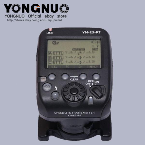 YONGNUO YN-E3-RT speedllite transmitter for canon 600EX-RT/YONGNUO YN600EX-RT