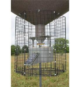 Boss-Buck-Varmint-Cage-Large-Deluxe-Round-for-Various-Boss-Buck-Feeders-BB-1VC