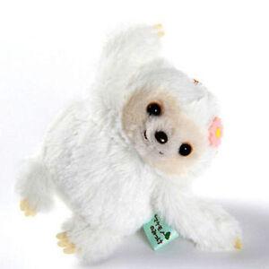 Namakemono-no-Mikke-4-039-039-White-Sloth-Amuse-Prize-Plush-Key-Chain