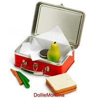 American Girl Doll Molly's School Lunch Boxpaillunchbox Free Shipping