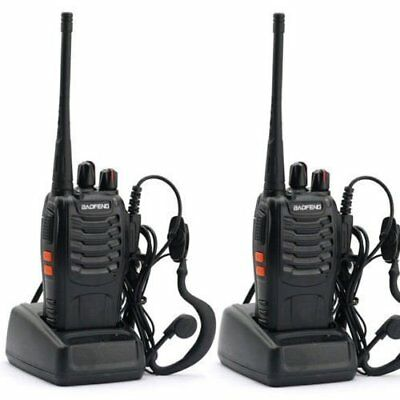 Nestling 2PCS 400-470 MHz BaoFeng Walkie Talkie Two Way Radio Rechargeable Long