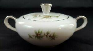 Seyei-Norcrest-Fine-China-Japan-Norcrest-Sugar-Bowl-Cascade-Pine-11028