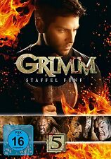 5 DVDs * GRIMM - SEASON / STAFFEL 5 # NEU OVP +