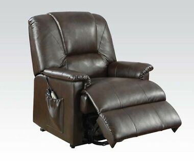 ACM Reseda Faux Leather Recliner Chair