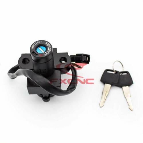 Ignition Switch Fuel Gas Tank Cap Lock Key Fit 84-01 Honda JADE250 CBX750 CB250