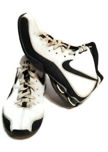 2008-Nike-Shox-Zoom-Air-Elite-Size-10-Basketball-Shoes-324826-101-White-Black