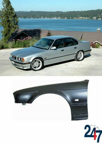 Guardabarros Delantero Ala con ranura de marcador izquierdo Compatible Con BMW 5 Series E34 88-95