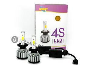 Coppia lampade fari ricambio s auto led h w alta luminosita