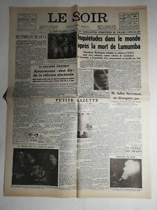 N487-La-Une-Du-Journal-Le-Soir-15-fevrier-1961-les-syndicats-en-URSS