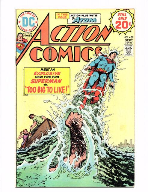 Action Comics #439 (Sep 1974, DC) - Good/Very Good