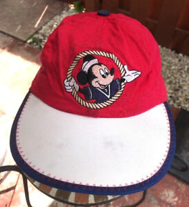 4f2c3e7ec4b Image is loading Vintage-Kids-Disney-World-Mickey-Mouse-Baseball-Hat-
