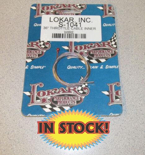 """36/"""" Long Inner Trottle Cable Lokar S-1041"""