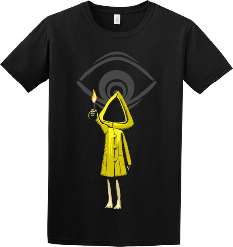 """/"""" Little Nightmares Six /"""" Maw Cool Creepy Inspired Kids Adult Game T-Shirt"""