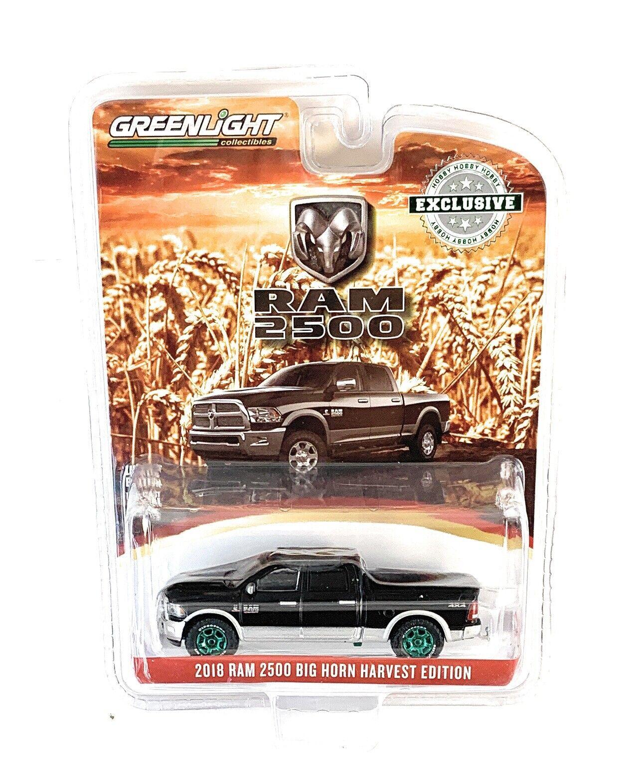 2018 Dodge RAM 2500 Big Horn  Harvest Edition White ** Greenlight Hobby 1:64 OVP