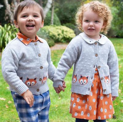 0-5 Years Organic Kite Boys Little Cub Leggings Grey