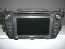 07 08 CADILLAC SRX GPS Navigation DVD CD Player NAV AM/FM Stereo Radio 25797598