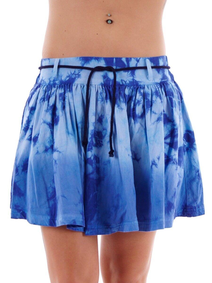 Brunotti Skirt iccello Mini Skirt blue Skirt Belt Loops Elastic Band
