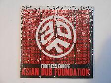 ASIAN DUB FOUNDATION : FORTRESS EUROPE [ CD SINGLE NEUF PORT GRATUIT ]