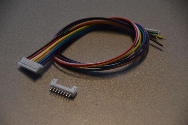 Micro Mini Stecker 2.0mm 8-Pin mit Kabel 30cm, JST PH kompatibel