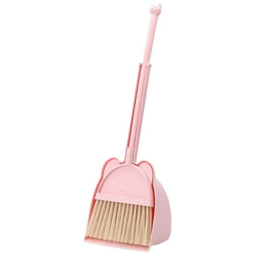 Mini Broom and Dustpan Set Children/'s Learning Sweeping Tools Household So W8B5
