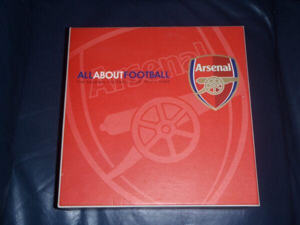 """"""" """"ufficiale Arsenal Football Club"""" Tutto Sul Calcio """"gioco Da Tavolo Quiz"""