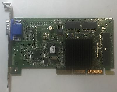 Retro NVIDIA RIVA TNT2 M64 16MB PCI Graphics Card Tested /& Working