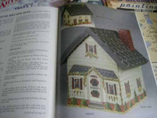 Paint A Victorian Memory Book -Notch Recip 11 Designs- Buildings Switchplates