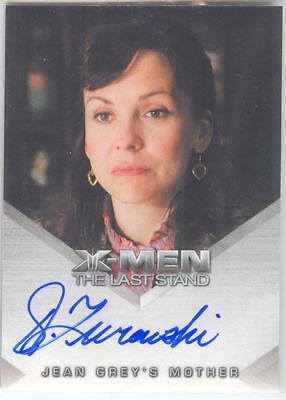 X-MEN 3 The Last Stand Autograph Card Jean Grey's Mother Desiree Zurowski    eBay