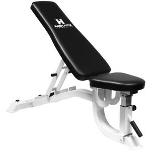 Heavy duty commercial pro flat incline decline gym bench dumbbell barbell weight 5051990719729 - Weight bench incline decline ...