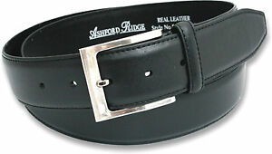 NEW-MENS-BLACK-OR-BROWN-REAL-LEATHER-BELT-JEANS-SIZES-32-60-NWT-GIFT-BOX-OPTION