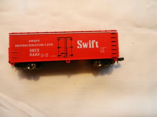 BOX CAR SWIFT REFRIGERATOR LINE     # SRLX 5524 Details about  /N SCALE