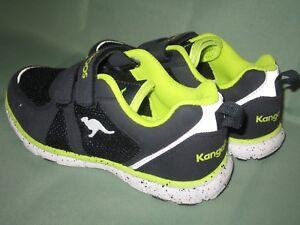 big sale 6288b 3f854 Details zu KangaRoos Mädchen Sneaker Größe 33 schwarz/neongrün, GEBRAUCHT,  aber noch SUPER!