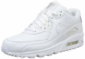 promo code 61799 93b2e Details about Nike Air Max 90 Leather Men's Shoes White 302519-113