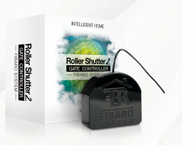 Fibaro Roller Shutter 2 - Jalousiesteuer FGR-222 //  Z-Wave Funk  -Neu + OVP