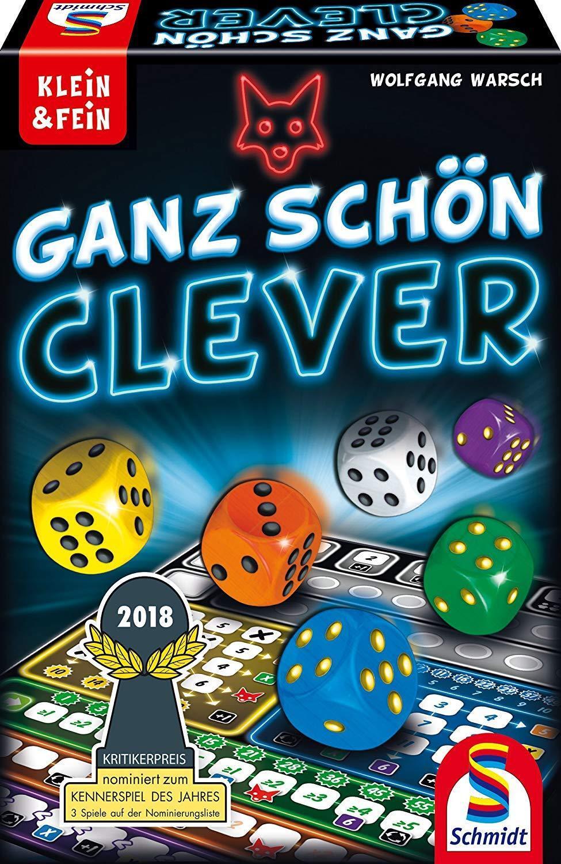 Schmidt Spiele Ganz Schon   Very Clever Dice Game (German)   NEW + SEALED